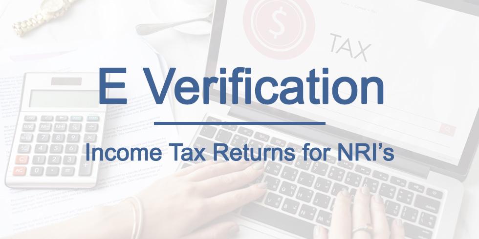 Modes of e-verifying Income Tax returns for NRIs